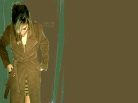 abrigo larga pana marron