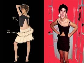 vestidos irregulares