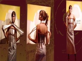 vestido largo nervios